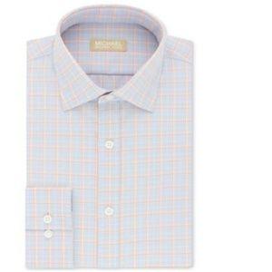 MICHAEL KORS Plaid Regular Fit Button Down Shirt